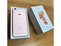 iPhone 6s 64GB Rose Gold unlocked mint condition