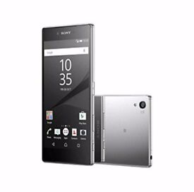 Sony xperia z5 premium, chrome, open all networks, waterproof.