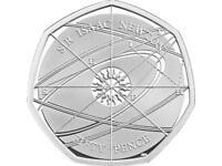 Rare Isaac Newton 50p coin