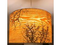 Pair of John Lewis ceiling light / lamp shade £80 , in great condition