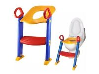 Toilet training ladder seat