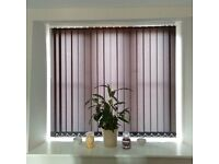 Value Vertical Window Blinds - Free measure and fitting friendly local service