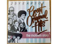 THE MOTOWN STORY - 6 DISCS SET: '25 YEARS OF GREAT ORIGINAL HITS'