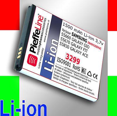 Batteria per Samsung S5830 GALAXY ACE Li-ion 1500mAh