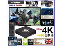 Fully Loaded 4K KODI MOBDRO S905 Android TV Box Movies Sports UK Football LATEST VERSION New