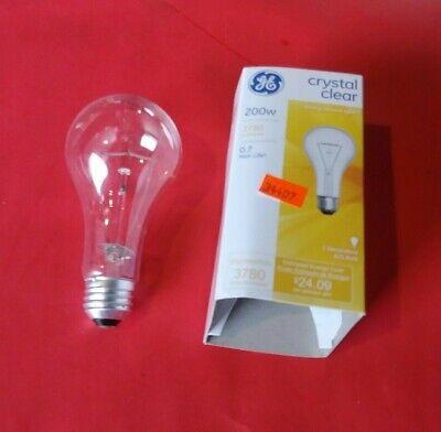 GE Lighting 16069 Decorative A21 General Purpose Light Bulb, 200W, Crystal (Clear General Purpose Light Bulb)