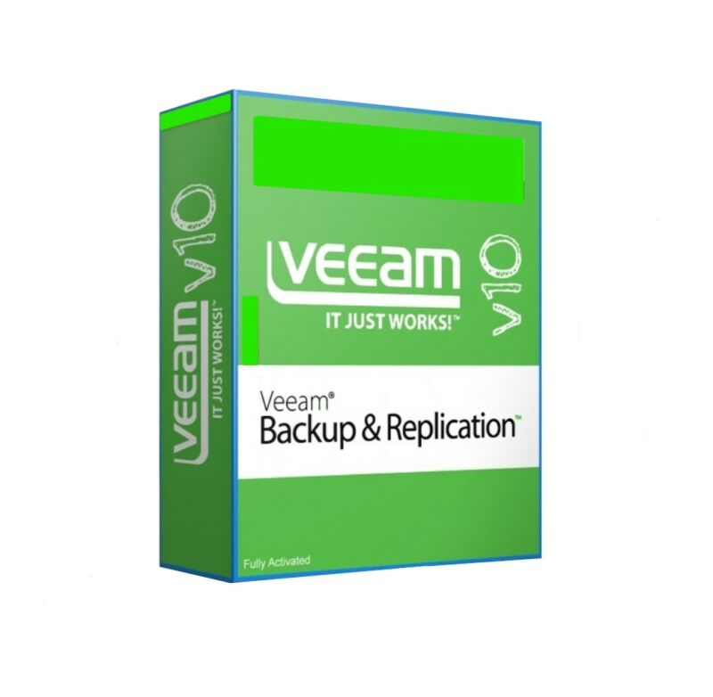 Veeam Backup & Replication 10 With Activator - Instant Delivery