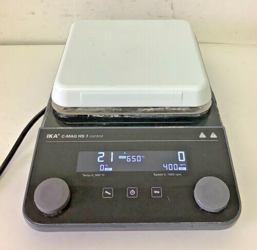 IKA C-MAG HS 7 Medical Laboratory Magnetic Digital Stirrer and Hot Plate