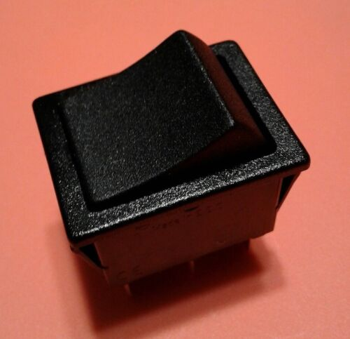 NEW On-On DPDT 6 Pin Rocker switch SHIPS FROM USA FREE 12v On-off Hi/low FWD/REV