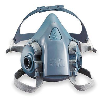 3M 7500 7502 Series Professional Half Facepiece Respirator (Medium)