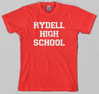 Rydell High School T Shirt - grease, musical, movie, 50s, 70s, john travolta - Rydell High