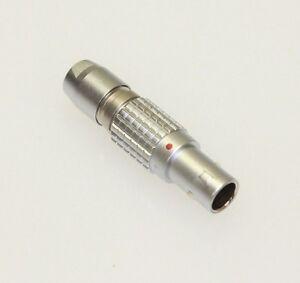 LEMO FGG.0B.305.CLAD.52 5 Pin Circular Push-Pull Cable Connector Plug, New