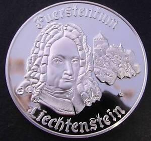 Liechtenstein sterling silver Medal Baldivis Rockingham Area Preview