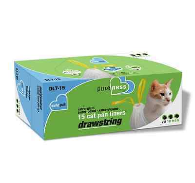 Van Ness DL715 PureNess Extra Giant Drawstring Cat Pan Liner