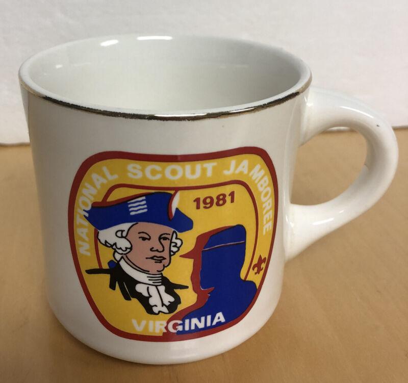 National Jamboree 1981 Virginia Boy Scouts of America Coffee Mug Cup Vintage