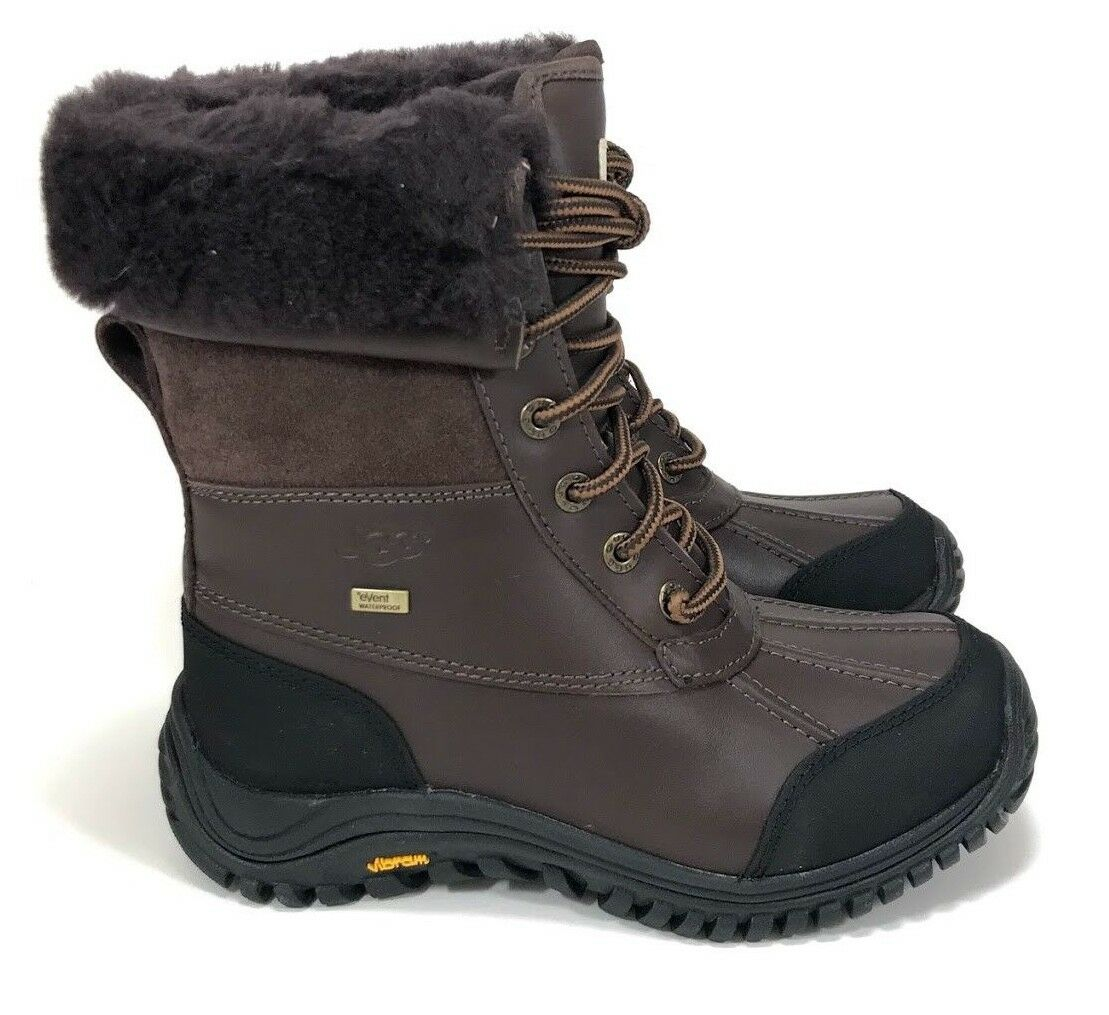 UGG Adirondack ll Woman's Brown Winter Sheepskin Waterproof