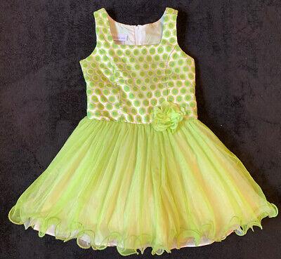 Bonnie Jean Girls Size 5 Green Party Dress