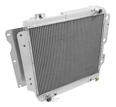 4 Row All Aluminum Performance Radiator For 1987   06 Jeep Wrangler 46Cyl