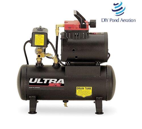 NEW Thomas 1/2hp 110V 2 gal. 125 PSI Portable Oil-Free Air Compressor T-617HDN