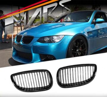 Gloss Black M3 Style Front Grille for BMW 3 E92,E93