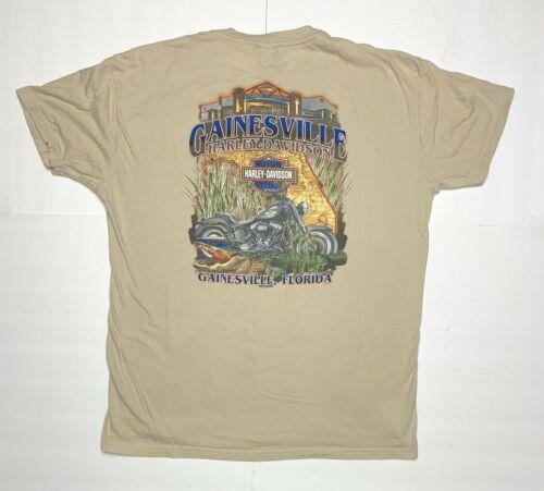 Gainesville Harley-Davidson Gainesville, FL T-Shirt, Size XL