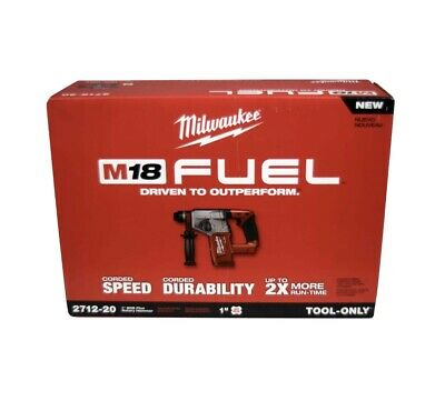 Milwaukee 2712-20 M18 Fuel 1 Sds Plus Rotary Hammer Tool Only