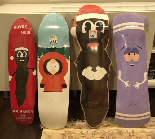 South Park x HUF Skateboard Decks Collection New Factory Rare Sealed 7-Ply