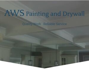 AWS Drywall Finishing,Painting And Popcorn Removal