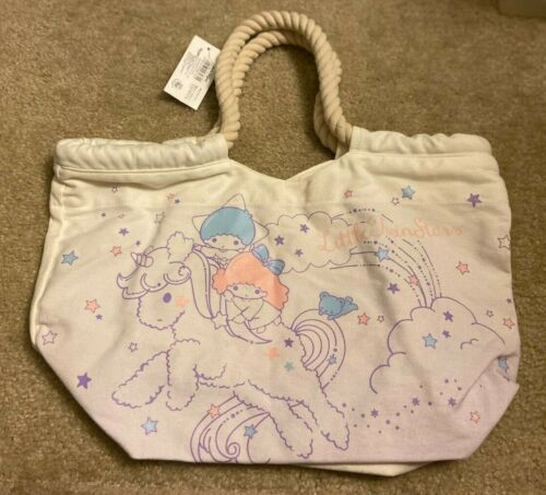 Sanrio Little Twin Stars Tote Bag with Rope Handle - Cute !!!  New with Tag