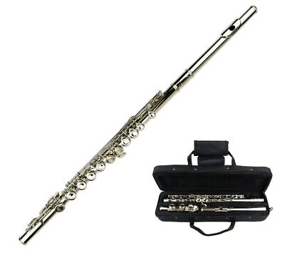 Merano Student Silver Flute With Carrying Case Accessories - $69.99