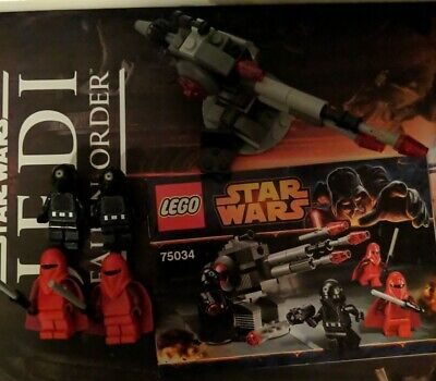 LEGO Star Wars Death Star Troopers 75034 with minifigures and instructions