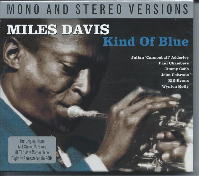 Miles Davis - Kind of Blue - Mono & Stereo Versions (2CD 2013) NEW/SEALED