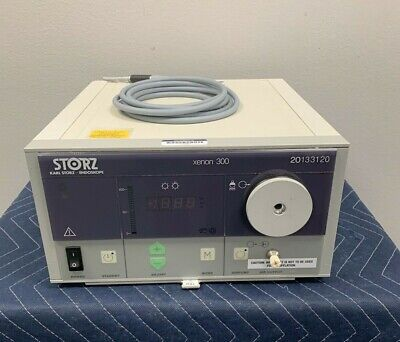 Storz Xenon 300 Light Source Console Ref 20133120 W Storz 495 Nd Cable