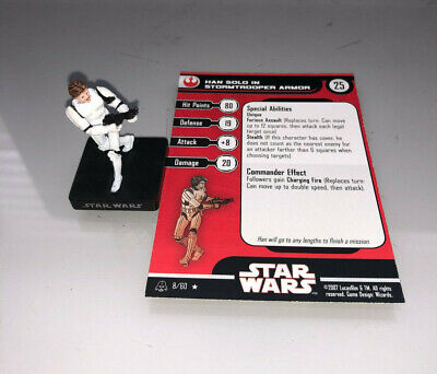 Star Wars Miniatures Alliance and Empire Han Solo in Stormtrooper Armor #8