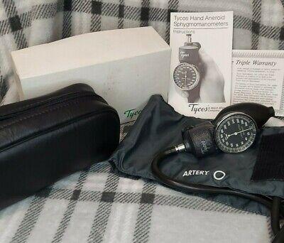 Tycoswelch Allyn 5098-02 Blood Pressure Sphygmomanometer Wadult Cuff Vintage