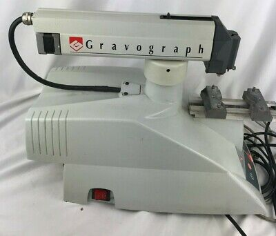 Gravograph Im4 Engraving Machine - Perfect For Jewelry Shows - Turns On