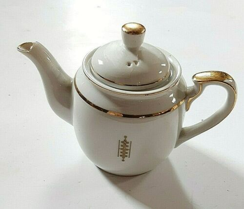 FRANK LLOYD WRIGHT AUTHENTIC TEAPOT FROM THE IMPERIAL HOTEL 1 OF A KIND RARE