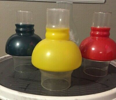 Glass Globe Chimney for oil lamp (choice)