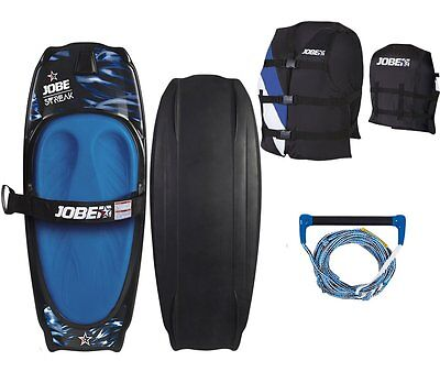 JOBE STREAK Kneeboard Freestyle Package Board für Anfänger und Fortgeschrittene