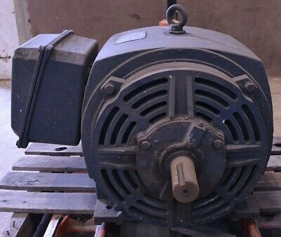 Leeson 75hp 230460v 3-phase 3565rpm Electric Ac Motor