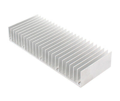 1pc 60x150x25mm Silver Aluminum Heat Sink For Led And Power Ic Transistor New