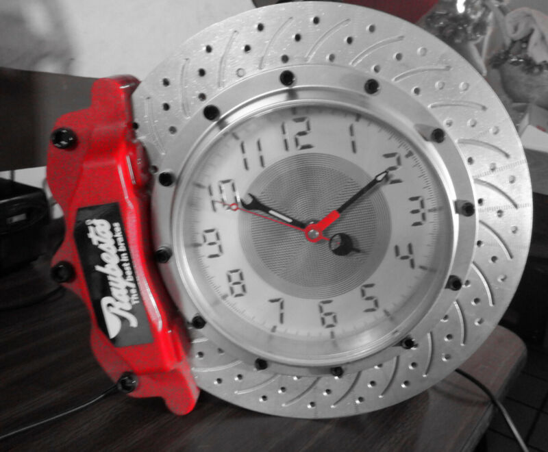 Automotive Clock Raybestos Lighted battery and power supply.