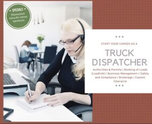 Truck Dispatch Courses #647-230-2766 $599 Start Today