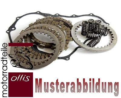 EBC clutch plate & spring set + cover gasket - Sachs XTC 125 '98-'02 - 2T-Modell