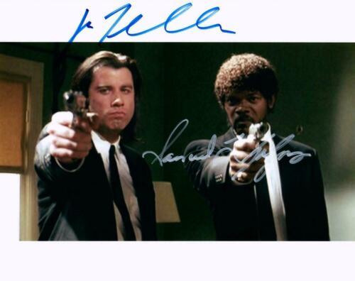 John Travolta / Samuel L Jackson Autographed Signed 8x10 Photo Reprint