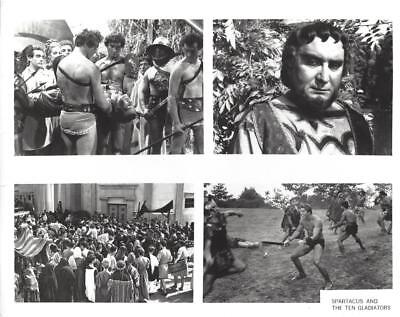 "Dan Vadis, Giovanni Vari, ""Spartacus and the Ten Gladiators"" Vintage Movie Still"