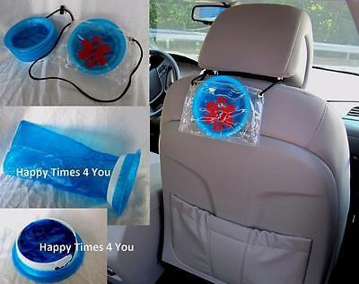 Uber Sign Medical Taxi Vomit Motion Sickness 7 Bag Kit