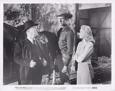 """Bill Edwards in """"Home in San Antone,"""" 1949"""