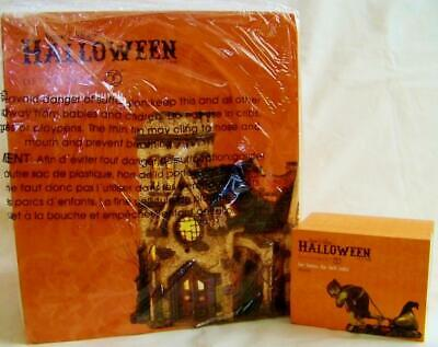 Dept 56 Halloween THE HAUNTED CHURCH + FOR DOOM THE BELL TOLLS Village NRFB