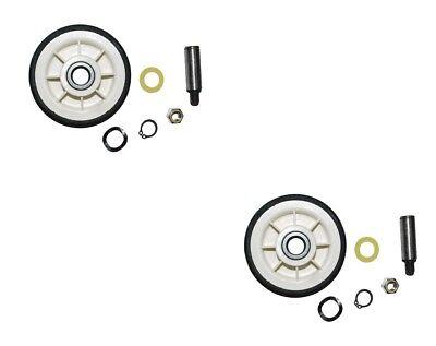 2 Pack Maytag Dryer Roller Wheel Drum Support Kit 303373K for 12001541 312948